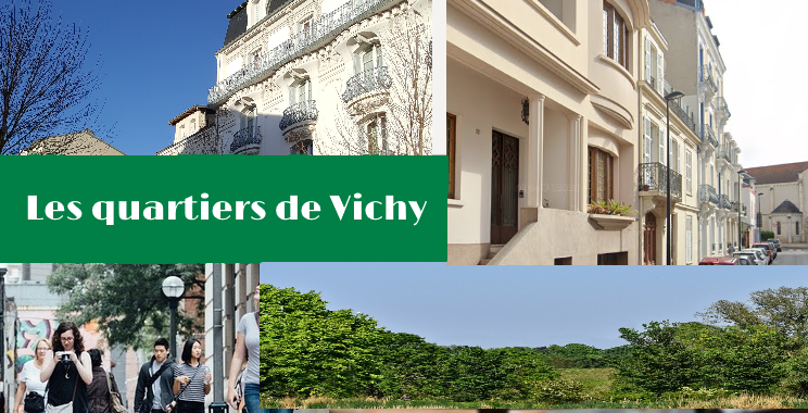 Les quartiers de Vichy