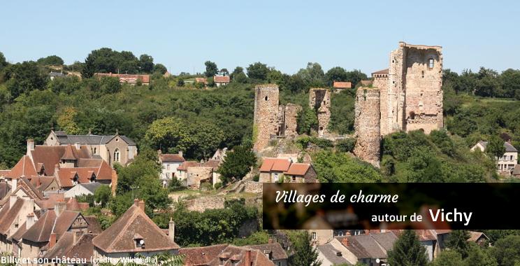 Villages de charme près de Vichy - Allier