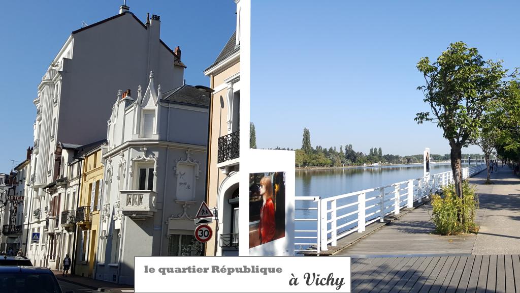 le quartier République - Vichy
